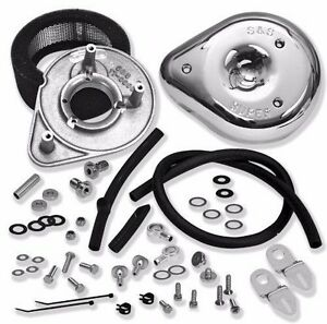 Details about S&S Cycle Classic Tear Drop Air Cleaner Kit 17-0450 For  Harley 1993-2009 Models