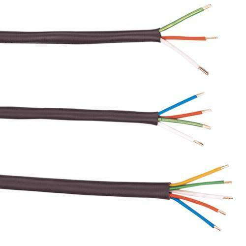 1000/' 18-3 PVC Thermostat Cable Heat Resistant PVC Insulation Wire