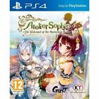 Ps4 Game Atelier Sophie The Alchemist of The Mysterious Book