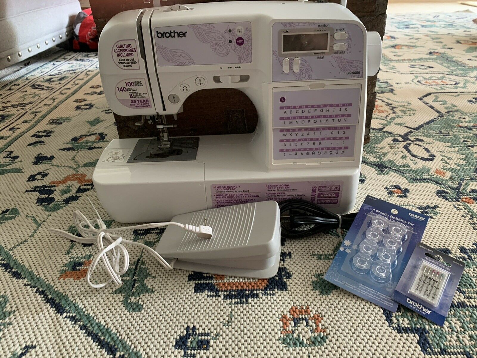 s l1600 - Brother SQ9050 Computerized Sewing Machine