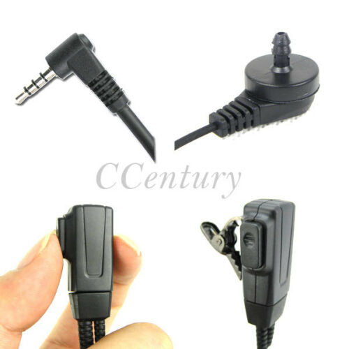 Plus Security Aoustic Tube Headset Earpiece for Zastone Two Way Radio ZT-2R