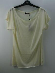 Damen-Damenshirt-Shirt-T-Shirt-NEU-It-039-s-Taboo-Wollweiss-Groesse-38-M