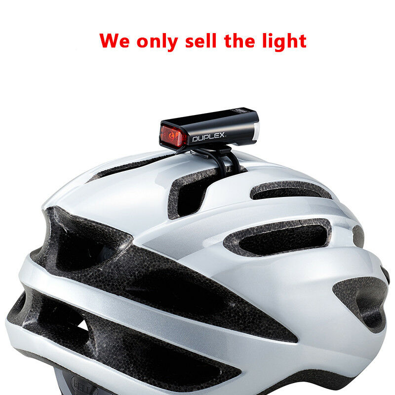 CATEYE SL-LD400  DUPLEX Rechargeable Cycling Bicycle Headlight Bike Helmet Light  welcome to choose