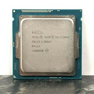 Intel Xeon E3-1230 V3 E3 1230 V3 E3 1230V3 3.3 GHz Quad-Core CPU Processor 8M 80W LGA 1150