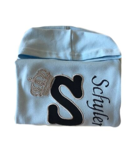 Personalised Embroidered Baby,Kids BoyGirl Hoodie,Jumper,Top Name Christmas Gift