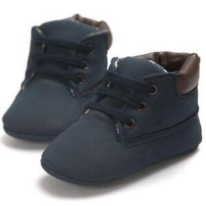 Toddler Newborn Baby Boy Girl Soft Sole Suede Shoes Tassel Crib Shoes Kids UK