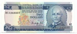 Barbados 1986 2 Dollars P36  Ch CU