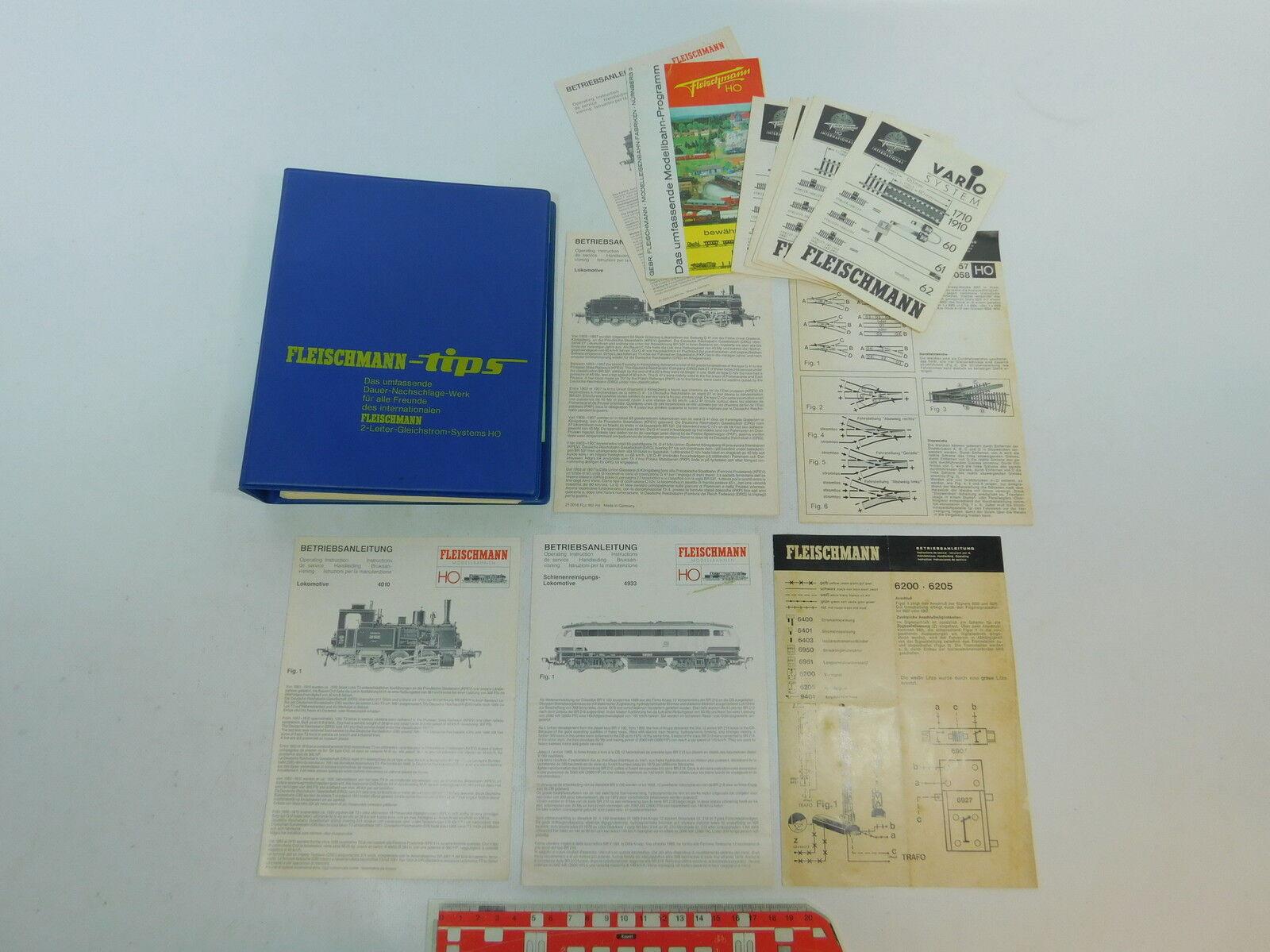 Sin impuestos AV412-2   Flschm Cochepeta  Fleischmann Puntas  + + + Instrucciones (Locomotora  tienda en linea