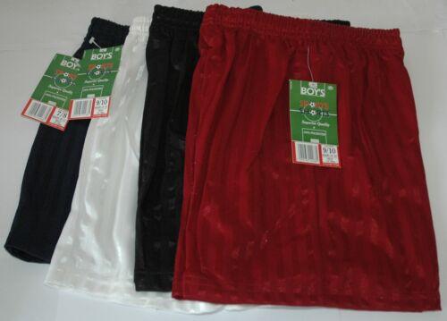 Garçons filles école de football Gym Shorts choisir couleur /& taille 5-6 7-8 9-10 11-12