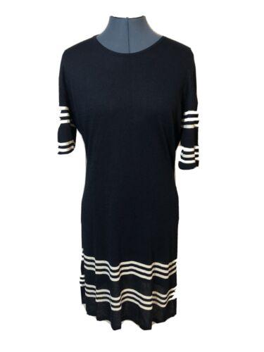 Miss Bessi Averardo Bessi Vtg Blue White Striped 3
