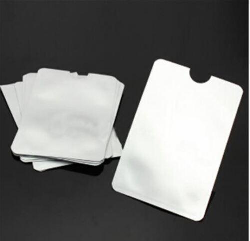 Men/'s Women Black Wallet RFID Proof ID Card Holder Nappa Leather Money Purse