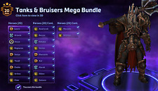 Heroes of the Storm (ALL REGIONS) - TANKS & BRUISERS MEGA Account - 50% SAVED!