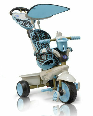Велосипед Dream Touch Steering голубой Smart Trike (Смарт Трайк)