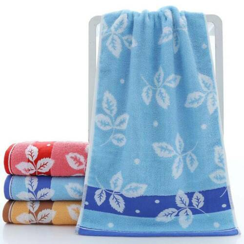 Soft Cotton Towel Face Hand Towel Leaf Jacquard Towel Bath Sheet Bath Towel S