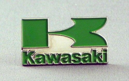Kawasaki motorcycle pin badge