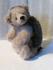 artist-made-adorable-Mohair-7-034-Hedgehog-jointed-no-quill-039-s-PRISTINE-NEW-CONDITIO