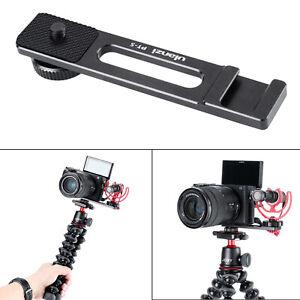 Accommodates Microphones Or Lights Aluminum Mini Folding Bracket for Sony Handycam DCR-DVD101