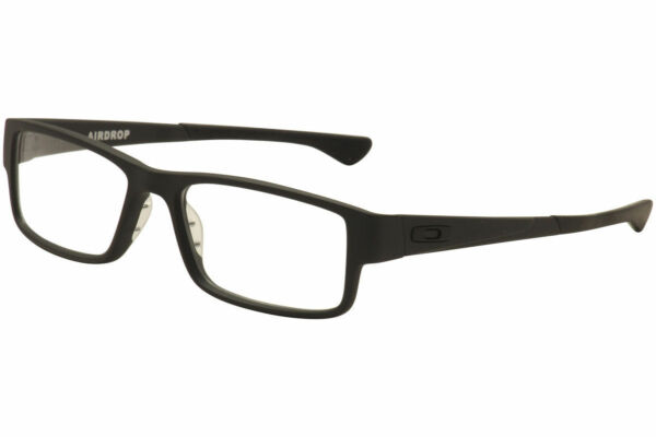 c4ab0feee32 Oakley Eyeglasses Ox8046 01 Airdrop Ox8046-0157 Satin Black 57mm for sale  online