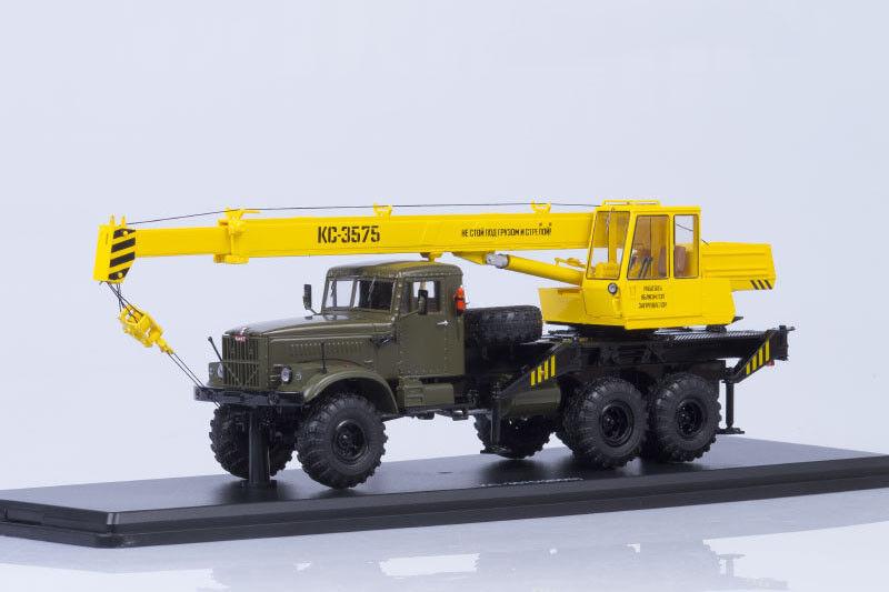 Grue KS-3575 sur Kraz 255B1 châssis  de camion 1 43 Start Scale Models SSM1185  livraison et retours gratuits