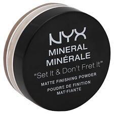 "NYX Mineral ""Set It & Don't Fret It"" Matte Finishing Powder, MFP02 Medium/Dark!"