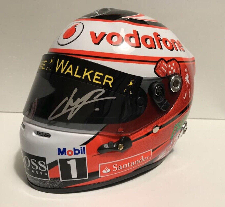 Sergio Perez Helmet 1 2 F1 Mclaren Formula 1