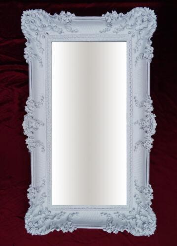 Wall Mirror Black 96x57 Antique Baroque Rococo Luxurious Bathroom Frame