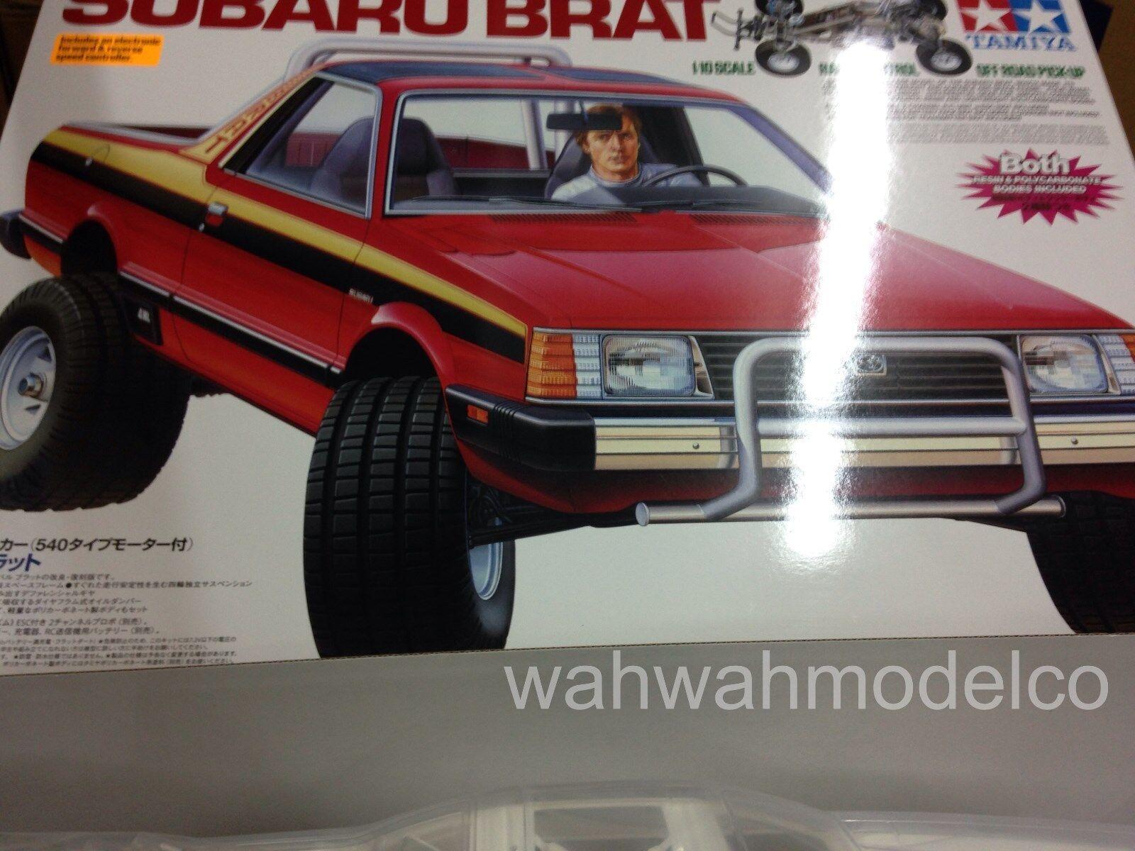 58384 1/10 Subaru Brat Off-Road Kit TAMC 0394 TAMIYA