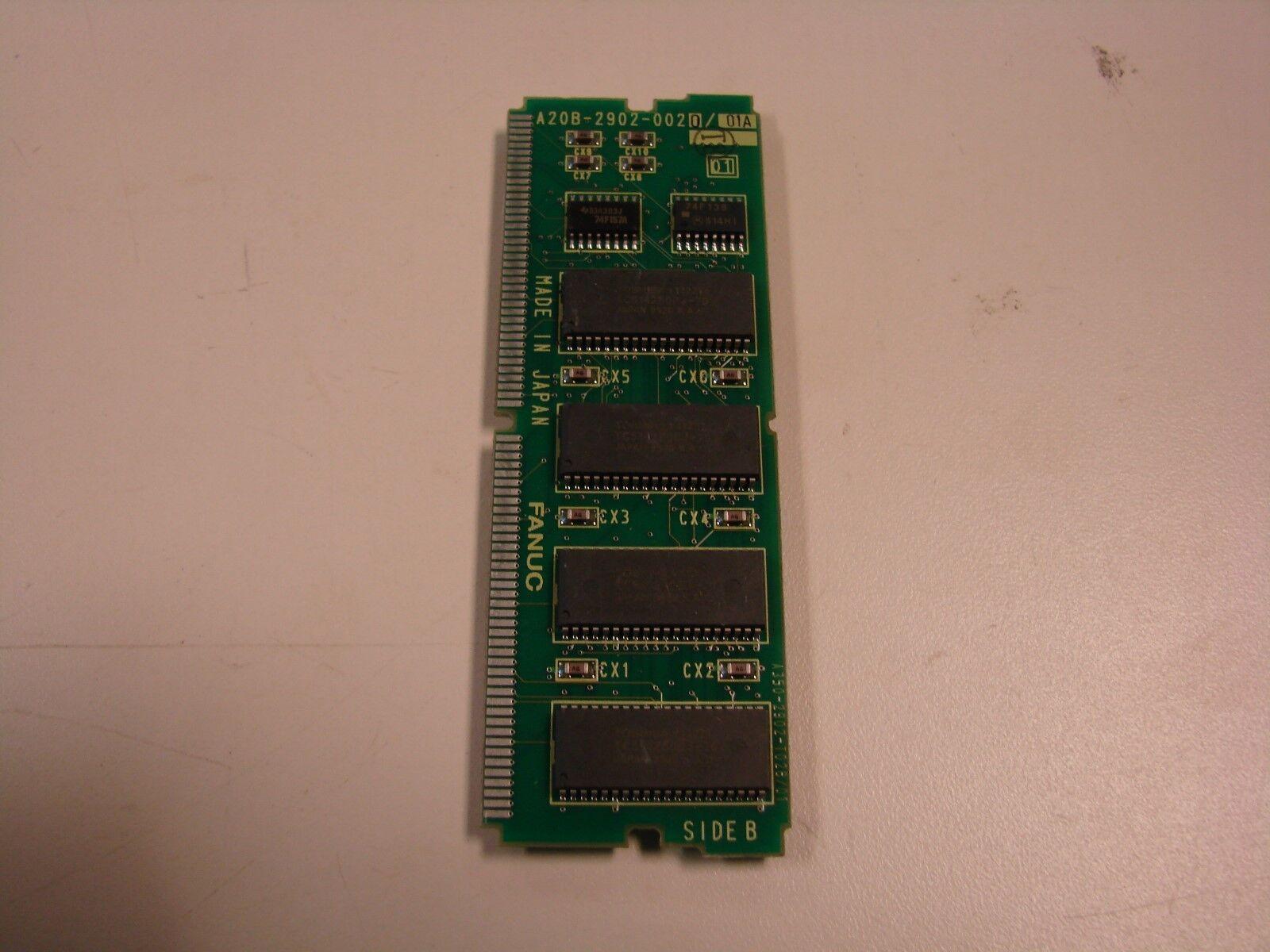 FANUC A20B-2902-0020 01A ROBOTIC MEMORY CARD