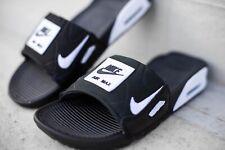 Nike Airmax Air Max 90 Slides Black White Bq4635 002 Men's Size 9 ...