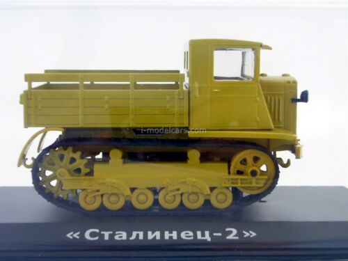 S-2 Tractor Stalinets-2 Transport crawler 1:43 Hachette #66