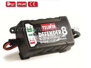Caricabatterie automatico mantenitore auto moto telwin for Caricabatterie auto moto lidl