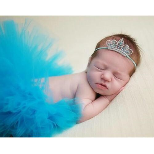 Newborn Baby Girl Photography Prop Tutu Skirt Costume Photo Prop Outfits Clothes
