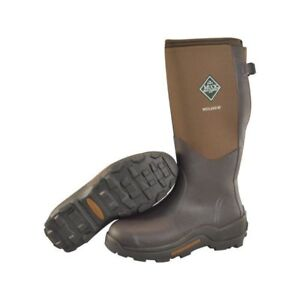 a9e9fa7fde77f NEW Muck Boots Men's Wetland XF Bark Brown / Snow Mud Hunting Farm ...