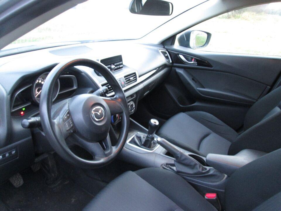 Mazda 3 1,5 Sky-G 100 Core Benzin modelår 2013 km 91000