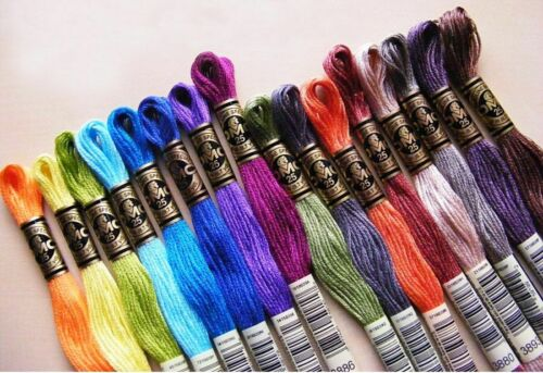 3325-3364 DMC Threads Skeins Cross Stitch Floss Pick Your Own Colours FREE P/&P