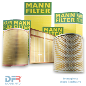 1 MANN-FILTER C2716 Filtro aria FORTWO Cabrio FORTWO Coupé