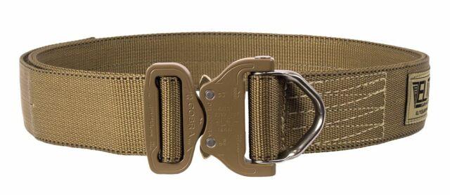 Elite Survival Systems Cobra Rigger's Belt D Ring Buckle Coyote Tan L - 0284
