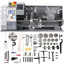 8x16 Mini Metal Lathe With 9 Cutters Ampamp 2 Chucks Metal Turning Benchtop