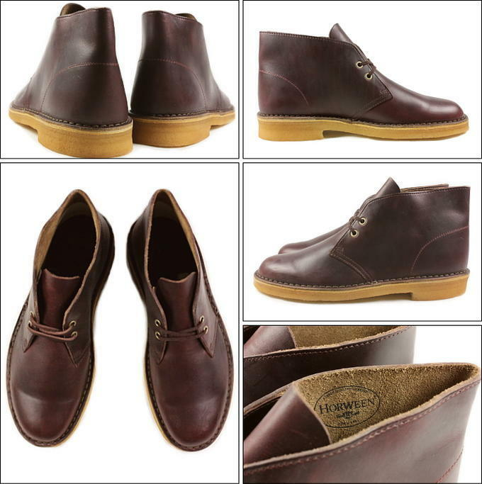 Clarks Clarks Clarks Original Mens ** X Desert Boots ** Wine Lea ** Limited Edition ** a043a0