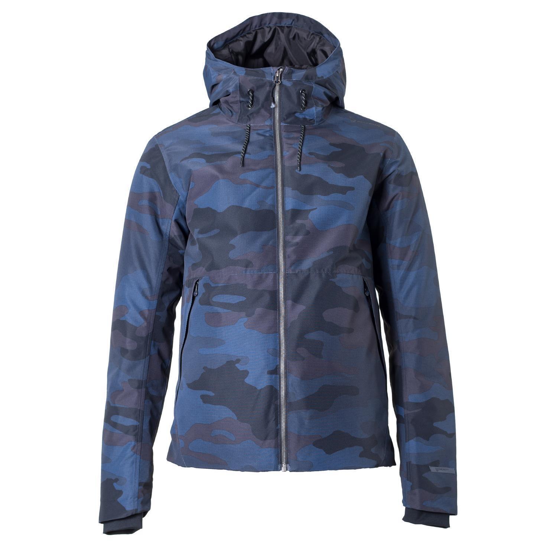 Brunotti Outdoorjacke Jacke Darwin Sie Jacket blau winddicht Canvas