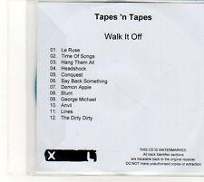 (EU188) Tapes 'N Tapes, Walk It Off - DJ CD