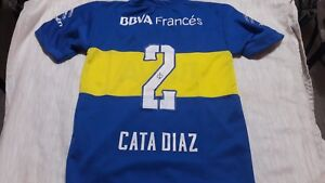 new products 1b165 1291b Details about Fantasy old white Jersey Boca juniors Argentina Cata Diaz