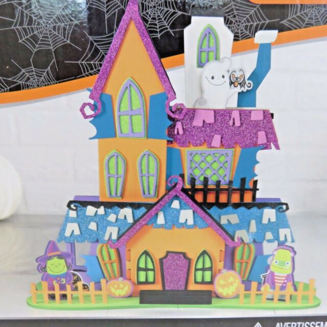 creatology 3d halloween house crafts for kids 104 pieces value pack
