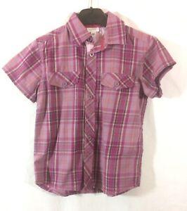 chemise-a-carreaux-Vertbaudet-6-ans-tres-bon-etat-C476