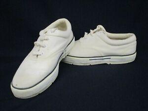 St Michaels Boat Shoes UK10, White