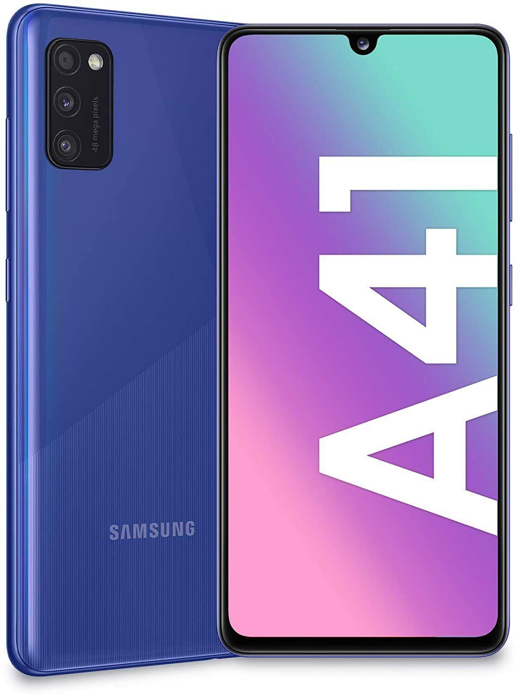 Samsung Galaxy: Samsung Galaxy A41 4+64GB Dual Sim 6.1″ SM-A415F Prism Crush Blu Nuovo ITALIA