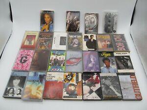 Lot Of 25 Cassette Tapes Mixed Rock Pop Rare ac/dc bon jovi donna summer garbage