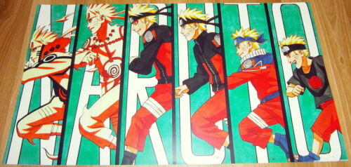 Poster 42x24 cm Naruto Shippuden Naruto Evolucion Naruto Evolution