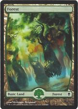 TCG MtG 165 Magic the Gathering Zendikar Full Art Land  Forest/Wald