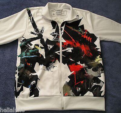 Adidas GOOD VS EVIL Track Jacket MR JAGO URBAN ARTIST SERIES Top firebird~Mens L